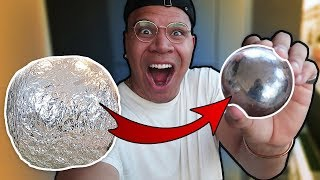 MIRROR-POLISHED JAPANESE FOIL BALL CHALLENGE (VERY SATISFYING) - Video Youtube