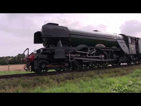 Flying Scotsman At The West Somerset Railway