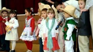 Natalicio Don Benito Juarez Presentada Por Kinder 1- B