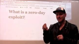 What is a zero-day exploit?