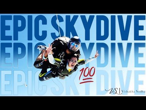 Falling From Sky | Sky Dive In Dubai | V-Log Teaser | Nailed It !