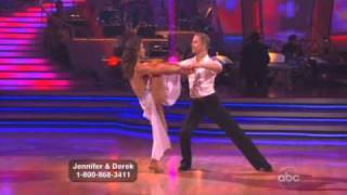 Jennifer Grey and Derek Hough Dancing with the stars WK 8 Rumba