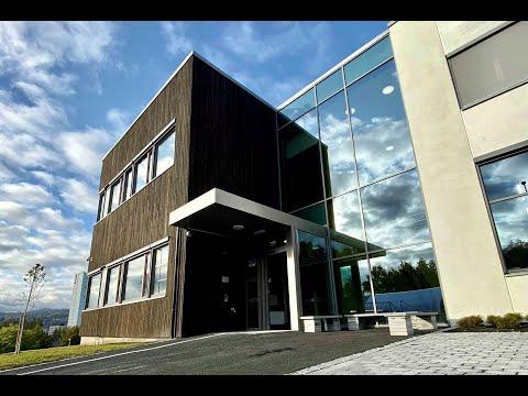 - Vil være industriens foretrukne samarbeidspartner. Laboratorieleder Joakim Eggen forteller om fasilitetene ved det nye berglaboratoriet på Valgrinda i Trondheim.