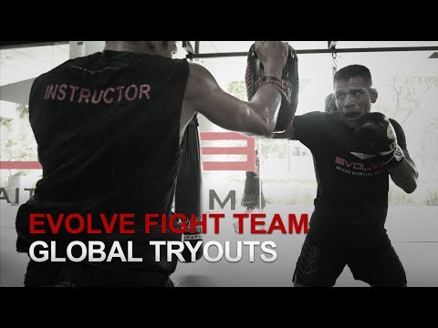 Evolve Fight Team Global Tryouts