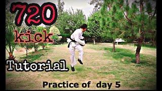 720 kick Tutorial In Hindi/Urdu