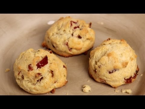 Bacon Parmesan Cookies – Recipe by Laura Vitale – Laura in the Kitchen Episode 292