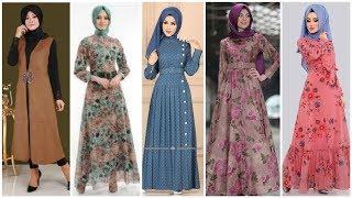 Top 20 + Elegant Long & Short Muslim Modest Fashion Dresses