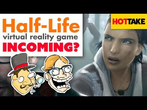 Half-life Virtual Reality Game Incoming? - Hot Take