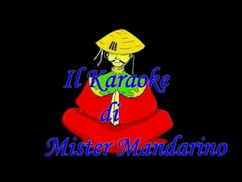 , title : 'Mina  -  Io domani  . . . . . .(  Karaoke italiano  -  Fair use )'