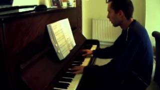 Words - Anthony David ft India Arie - Piano Cover