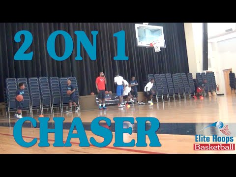 Nike Basketball Camps Two on One Chaser Drill
