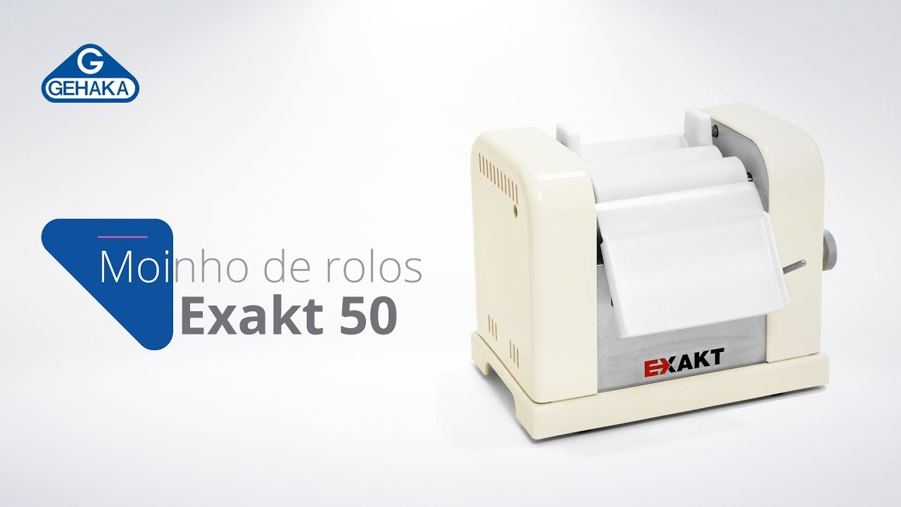 Video de demonstração do EXAKT E50 Classic