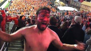 Clemson Fan goes CRAZY!! | Kholo.pk