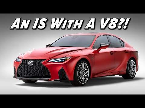 External Review Video GAGIa2EG35A for Lexus IS 500 F SPORT Performance Sedan (XE30, 2022)