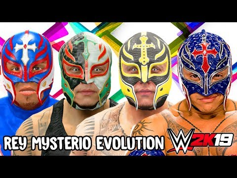 Rey Mysterio Ratings and Face Evolution (WCW vs NWO World