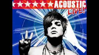 Adam Lambert - Sleepwalker - ACOUSTIC