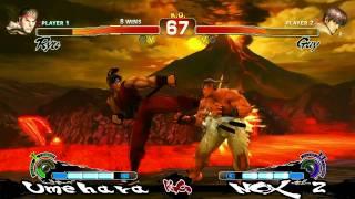 [SSF4] Daigo Umehara (Ryu) vs Nox2 (Guy)  K.O Event