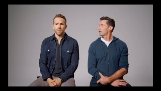 Ryan Reynolds and Hugh Jackman bullying each other for almost 4 minutes