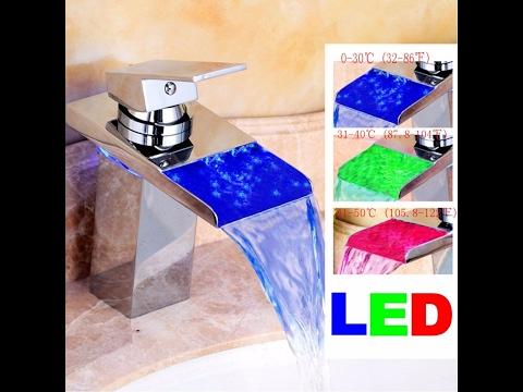 Recensione ITA TAPCET RGB Rubinetto LED Cromo Cascata Miscelatore