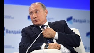"""""""А они просто сдохнут..."""". Путин на  «Валдае» про ядерных агрессоров."""