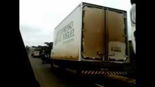 preview picture of video 'Greve dos caminhoneiros..'