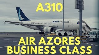 Air Azores A310 Business Class