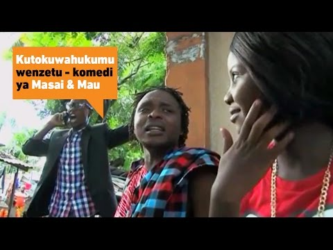 Kutokuwahukumu wenzetu | Masai & Mau Minibuzz Comedy