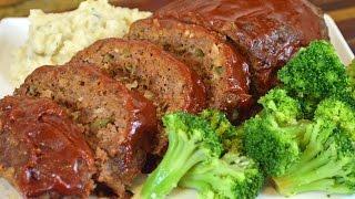 Beef Meatloaf Recipe & Alternative Turkey Meatloaf Recipe  Cooking With Carolyn