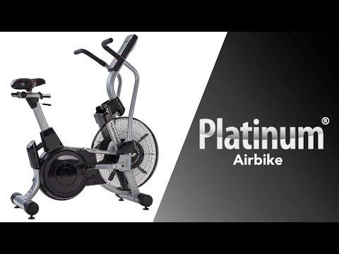 Promovideo: TUNTURI PLATINUM Air Bike PRO