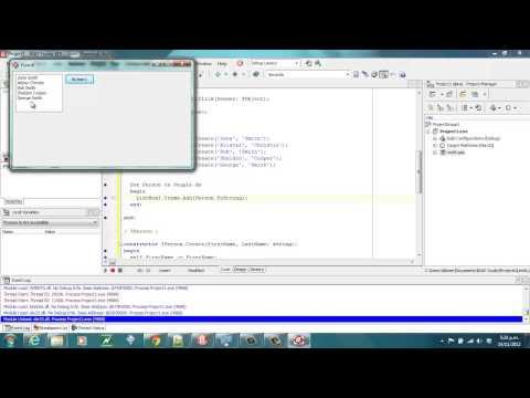 Delphi Programming Tutorial #83 – Sorting Dynamic Arrays