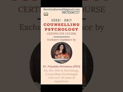 Certificate Course in Counselling Psychology   Exclusive Guidance ...