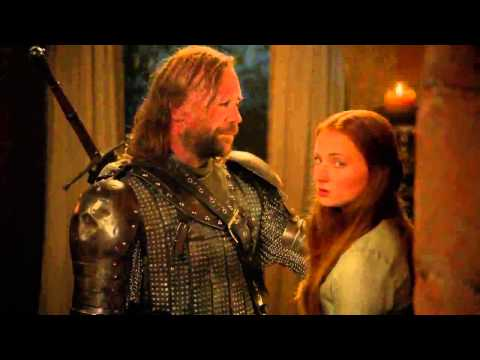 Game of Thrones Deleted Scenes - Sandor & Sansa - Watch A Game of Thrones Online Free