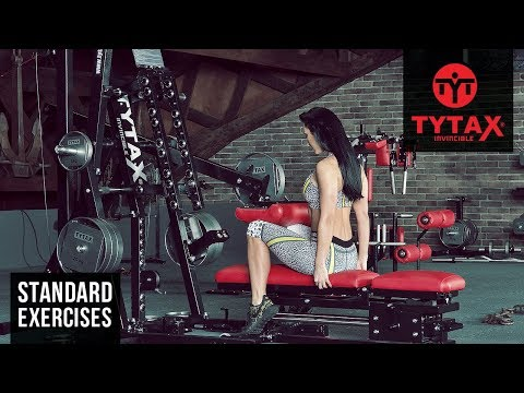 TYTAX® M1 | Lever Seated Calf Raise