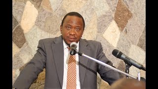 Don't try me - Uhuru send warning to Nasa, IEBC and the Judiciary