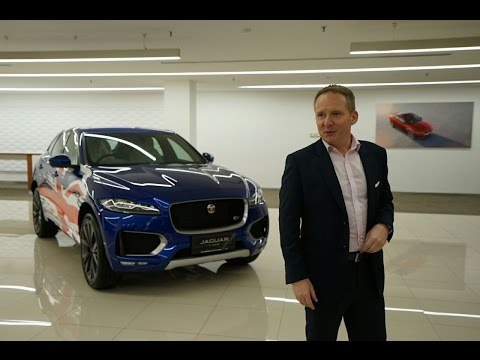 Pre-launch Preview Jaguar F-PACE 2016