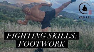 Fighting Skills: Shaolin Kung Fu Footwork