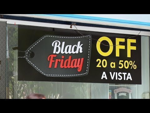 Comércio de Nova Friburgo fica lotado durante a Black Friday