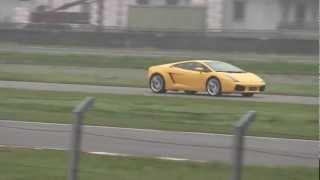 preview picture of video 'Lamborghini Gallardo sul circuito di Vairano (PV)'