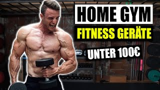Das beste HOME GYM EQUIPMENT | TOP 4 Fitness Geräte für Zuhause!