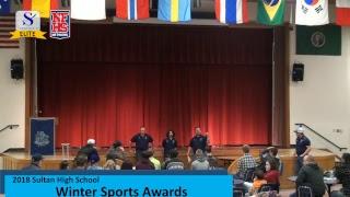 2018 Sultan High School Winter Sports Award