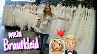 Ich kaufe mein Brautkleid 😍👰🏼💍 | Bibi