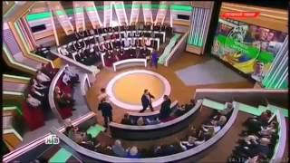 Драка  Осташко и  Мосейчука маты на   Ток шоу Место встречи на НТВ 26 04 2017 Без ПИ 18+
