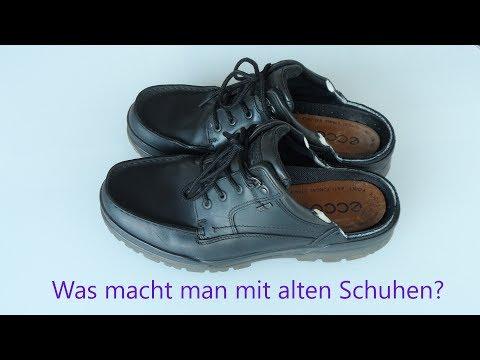 Ein zweites Leben für alte Schuhe