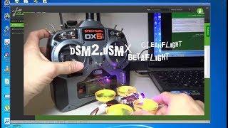 spektrum dx6i quadcopter setup - TH-Clip