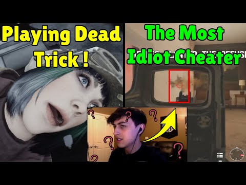 Download Playing Dead Trick Works ! | Even With Cheats He Stills Noob - Rainbow Six Siege Mp4 HD Video and MP3