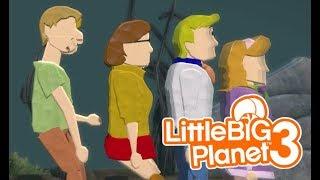 LittleBIGPlanet 3 - My Friends are DEAD!!! [Scooby-Doo Deathrun] - PS4
