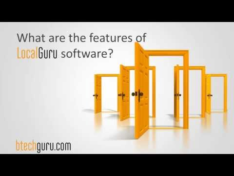 What are the features of Local Guru software?