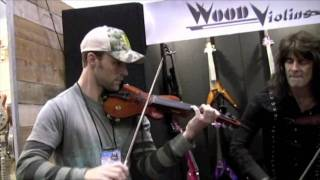 Jesse Spencer (House) and Mark Wood NAMM 2010