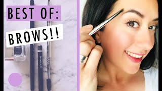BEST BROW Products and My Brow Routine | Green Beauty FAVORITES Roundup!