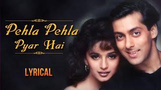 Pehla Pehla Pyar Hai Full Song With Lyrics | Hum   - YouTube